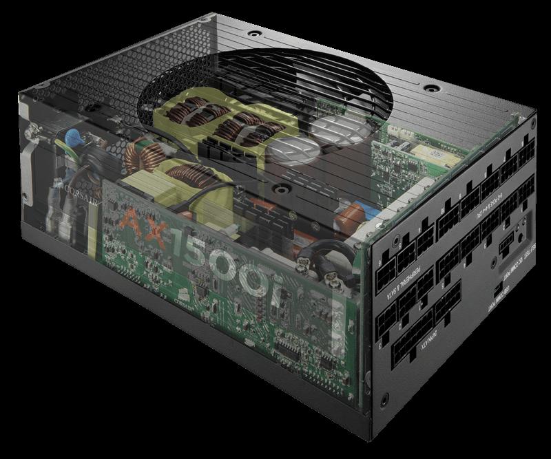 Corsair AX1500i Digital ATX Power Supply | PC | Pinterest