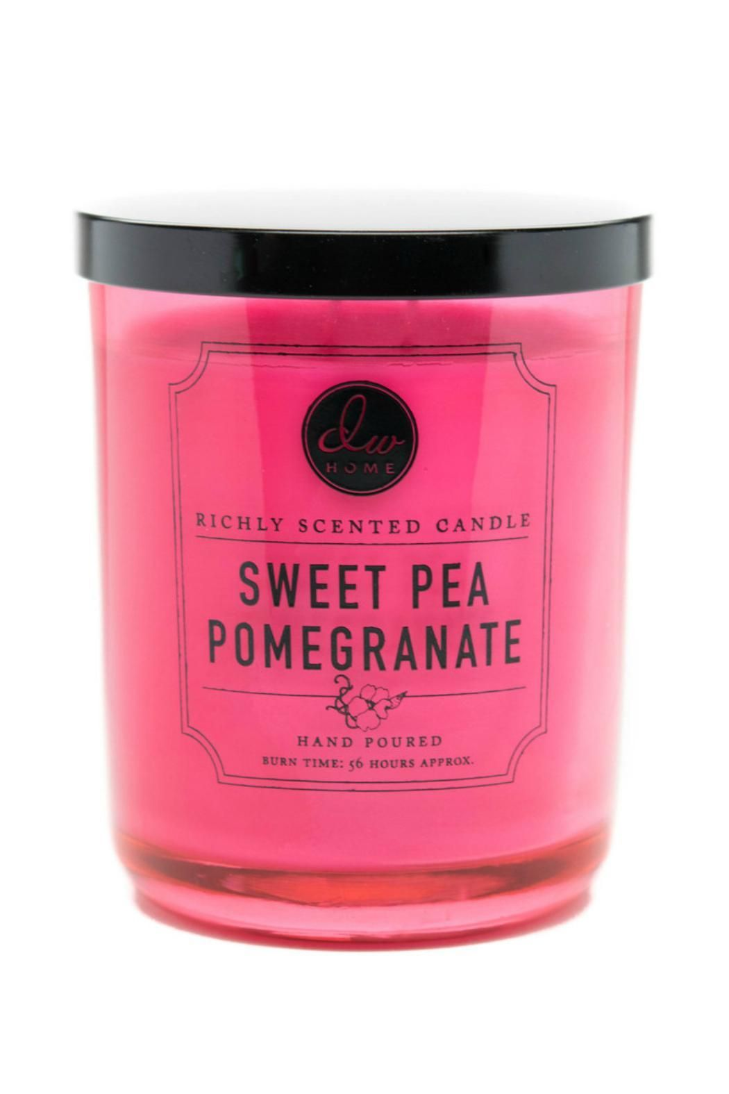 Dw Home Sweet Pea Pomegranate Candle With Images Scented