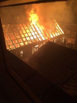 FW-EN: Gebäudebrand im Zentrum von Breckerfeld