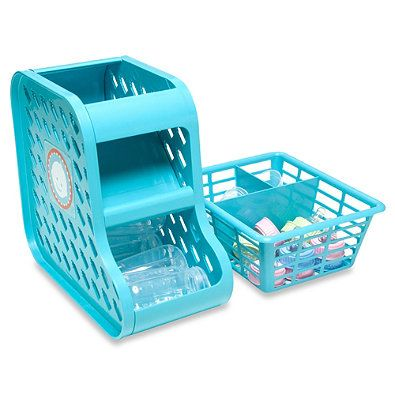 PRK Products Baby Bottle Organizer in Turquoise  sc 1 st  Pinterest & PRK Products Baby Bottle Organizer in Turquoise | BAYBEEu003c3 ...