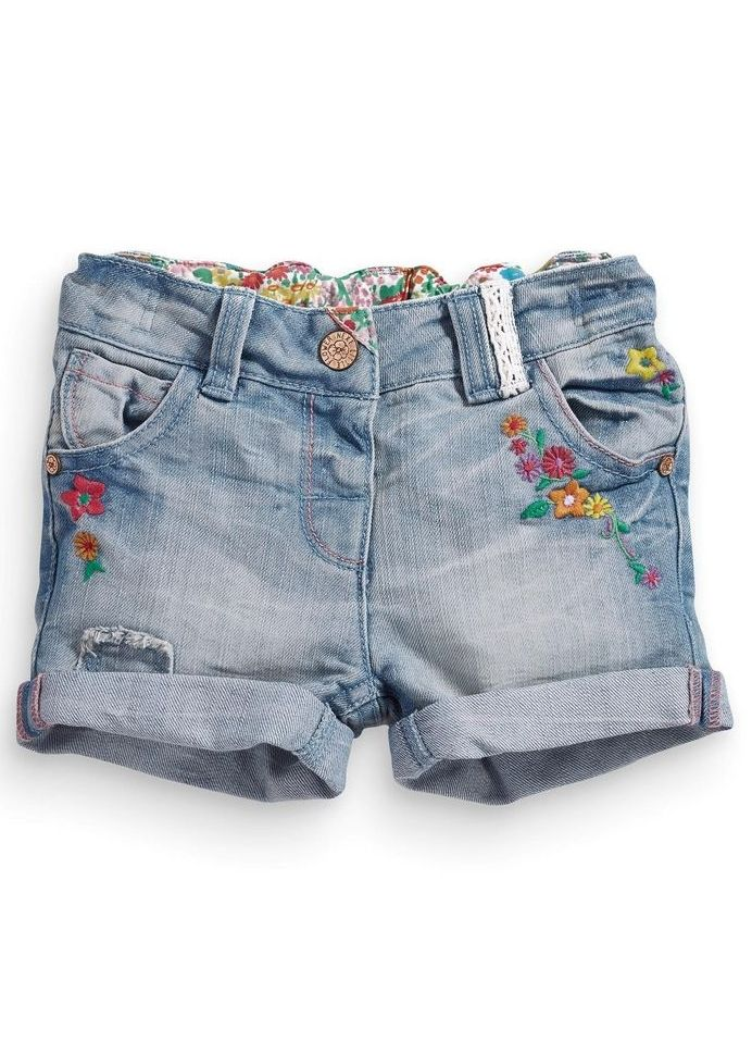 Flower Power Baby Shorts