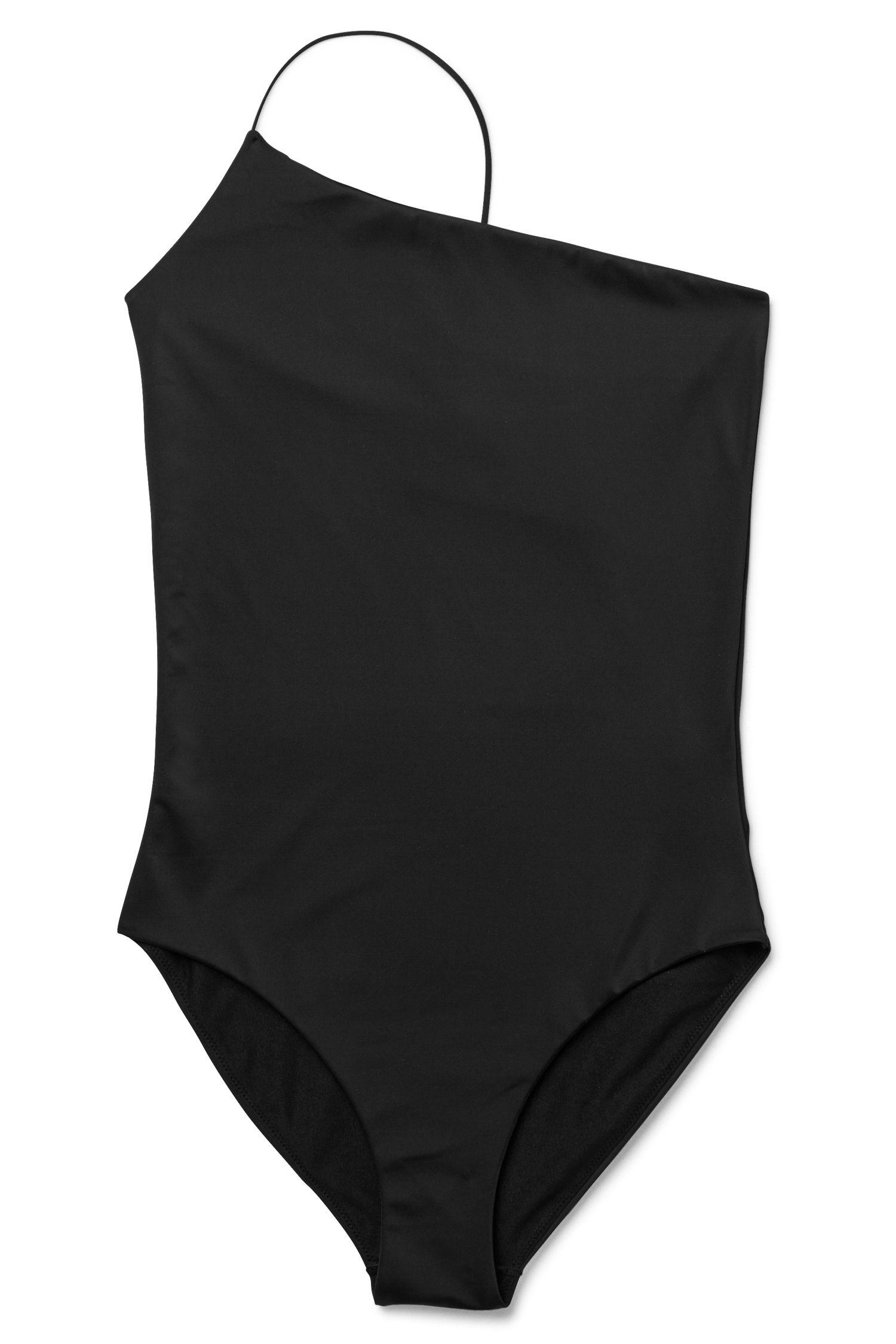 94ce960799c Weekday Coral Swimsuit in Black | Clothes | Trajes de baño, Trajes ...