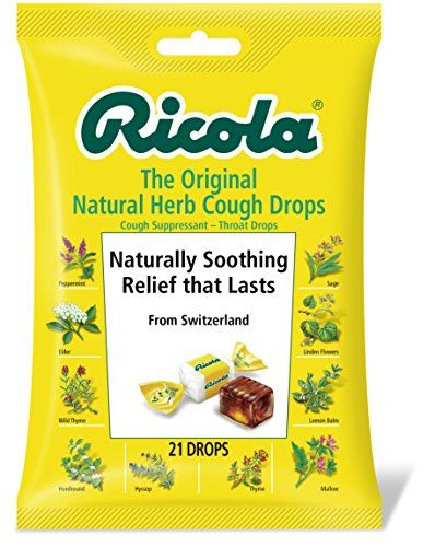 Ricola  Cough Drops, Natural Herb , 21 Drops (Pack of 12)... https://www.amazon.com/dp/B000P500U0/ref=cm_sw_r_pi_dp_x_AzBGyb1M7E26A