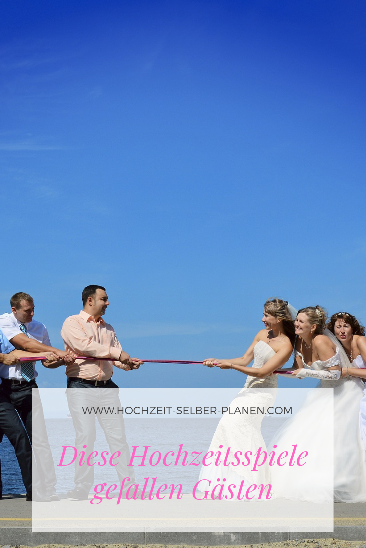 Hochzeitsspiele zum kennenlernen der gäste