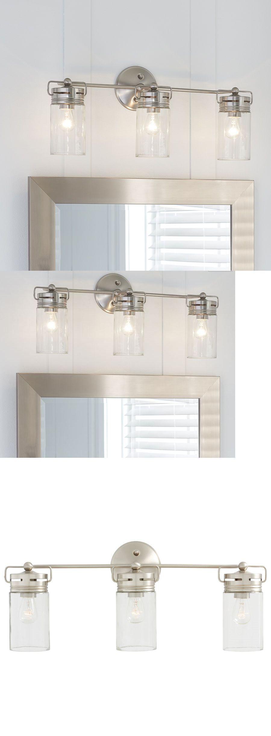 Bathroom Lighting Fixtures On Ebay wall fixtures 116880: allen + roth vanity light bathroom lighting