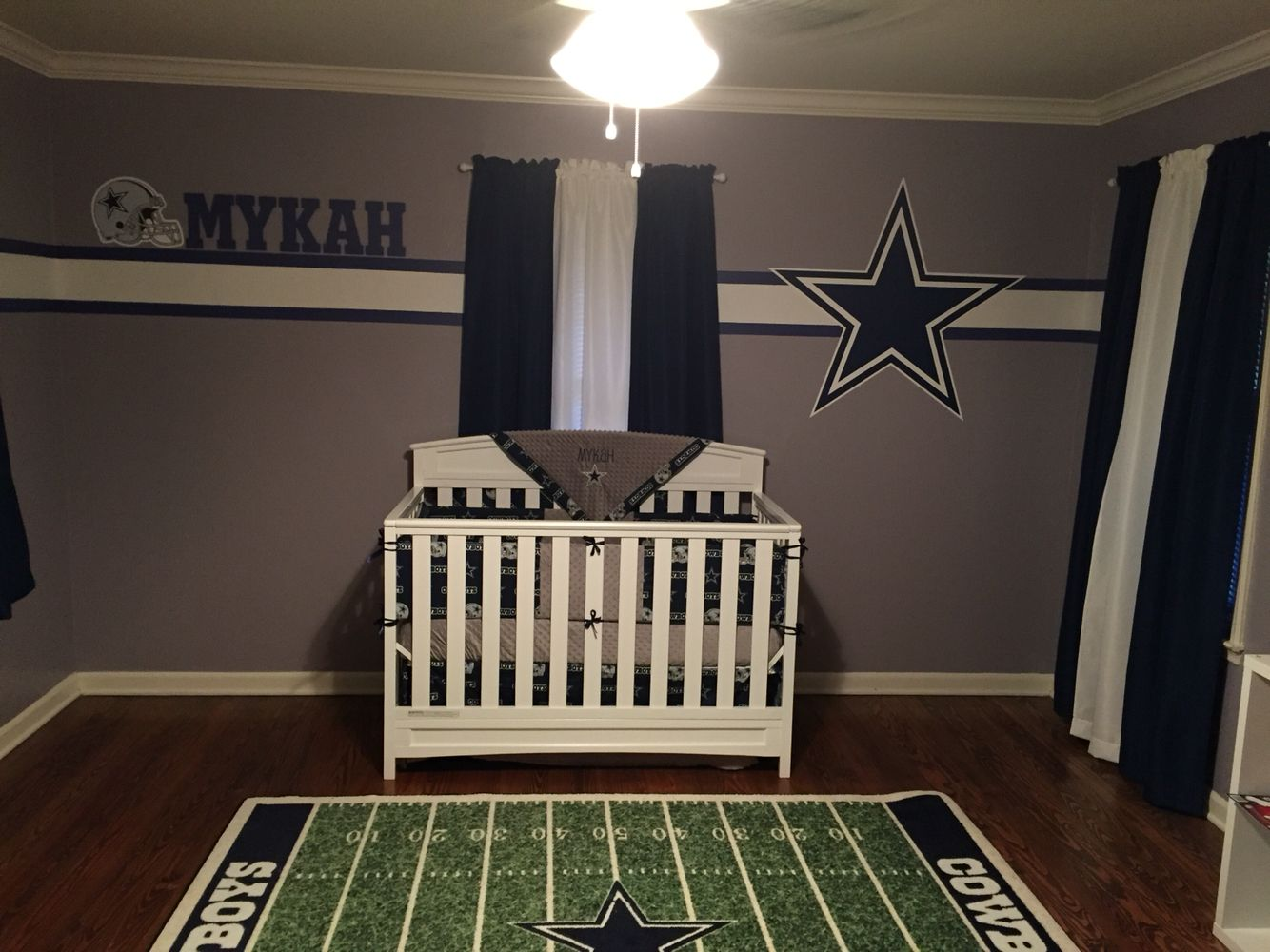 Dallas Cowboys Nursery Dallas Cowboys Nursery