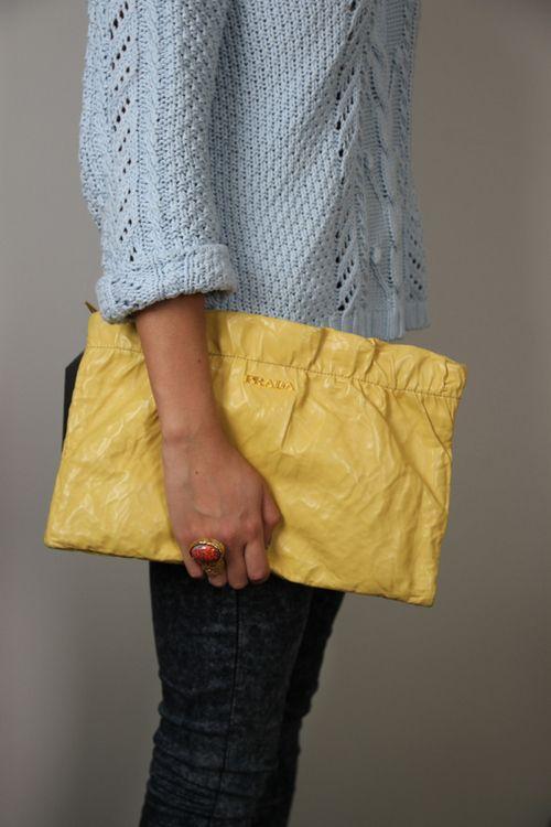 Preloved #Prada #Clutch at #BuyMyWardrobe