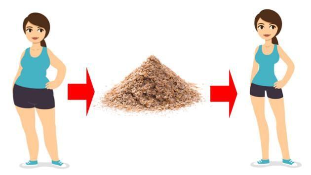 afrecho de trigo para bajar de peso