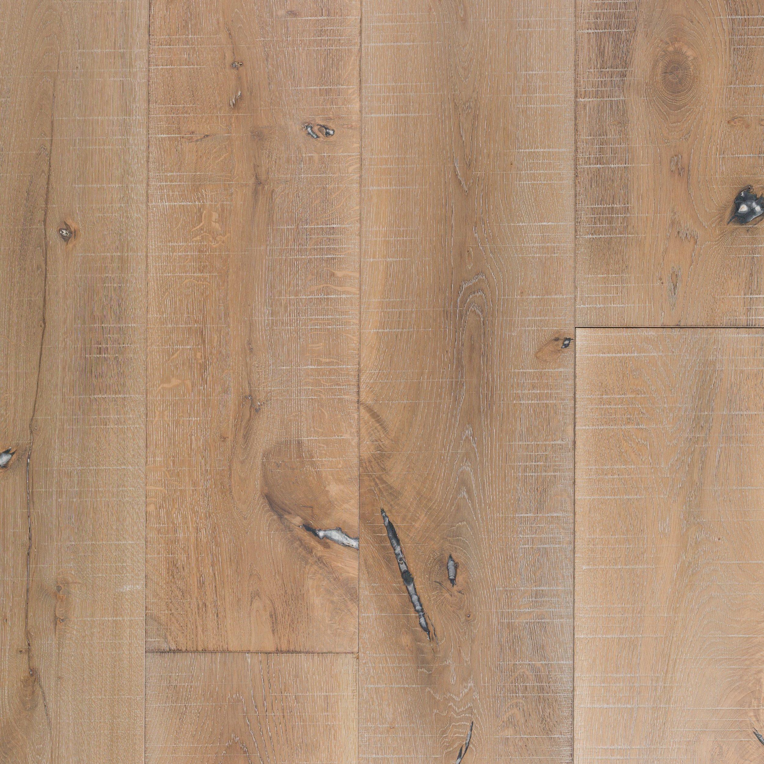 European Oak Rustic Distressed Engineered Hardwood in 2020