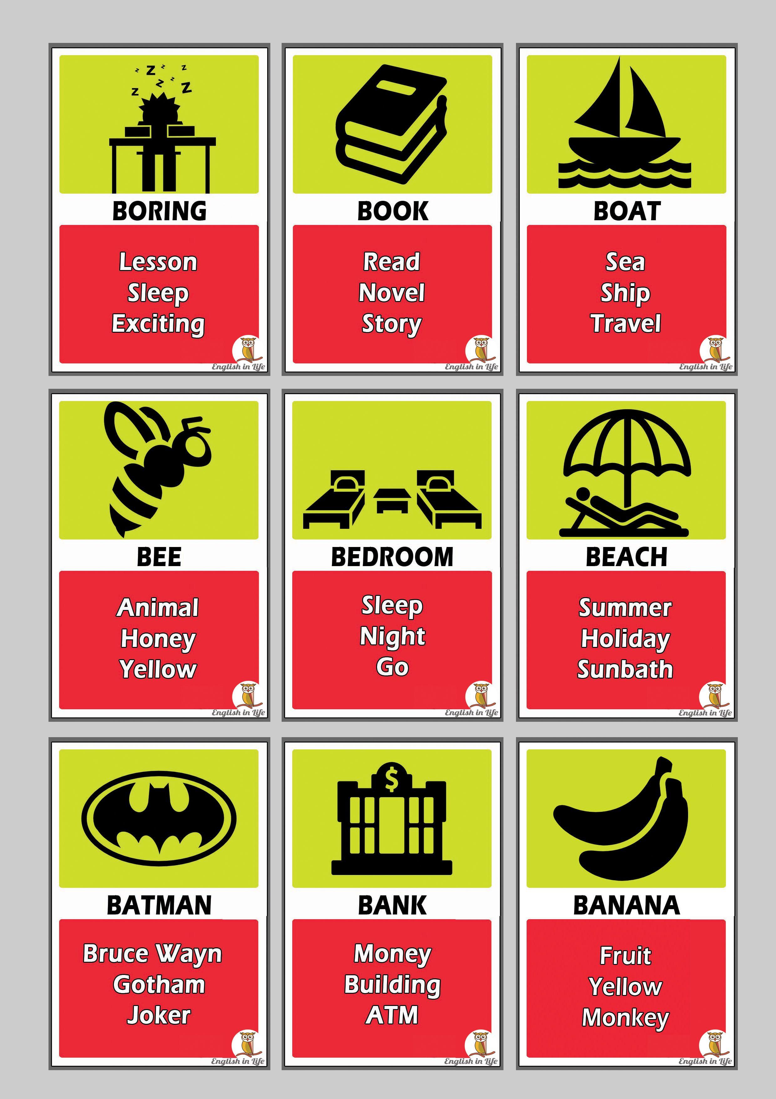 download taboo game cards free u2026 : Pinteresu2026