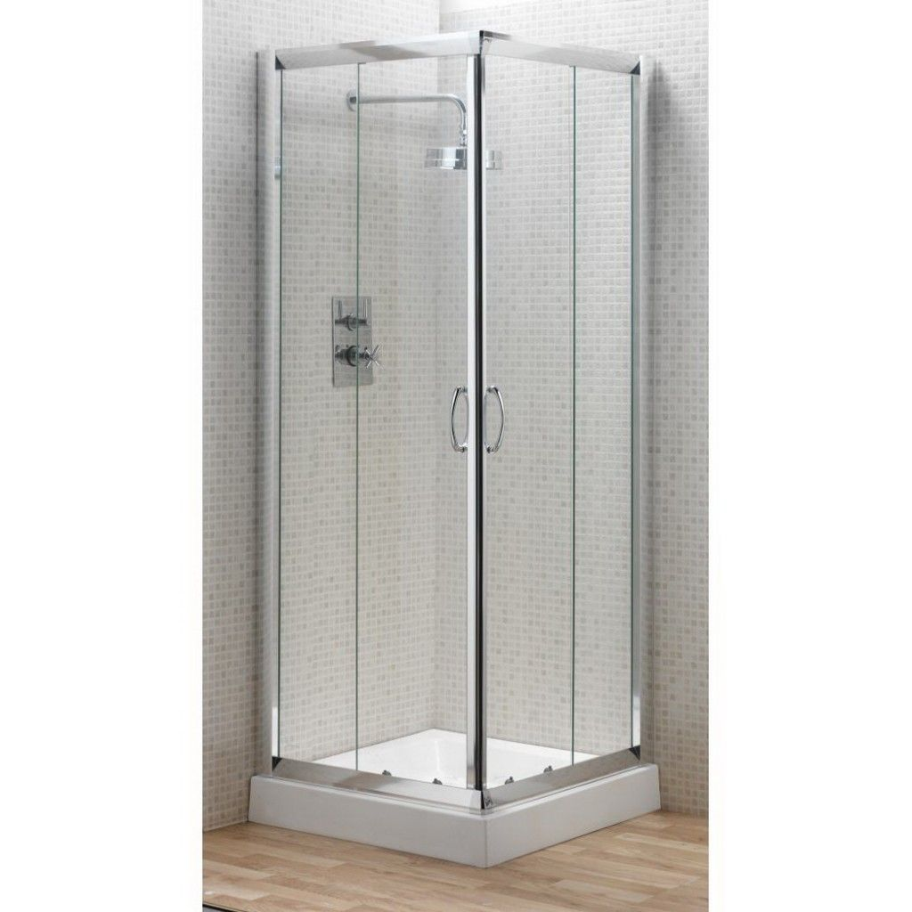 Smart Option To Decorate Your Bathroom Using Home Depot Shower Enclosures Neo Angle Doors