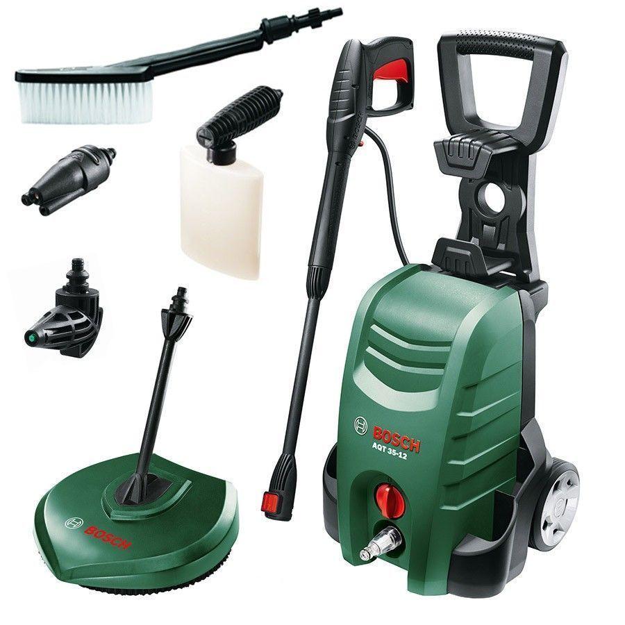 Bosch Car High Pressure Washer Machine With Accessories Jet Patio Home Cleaner Washer Cleaner Patio Flooring Washer Machine