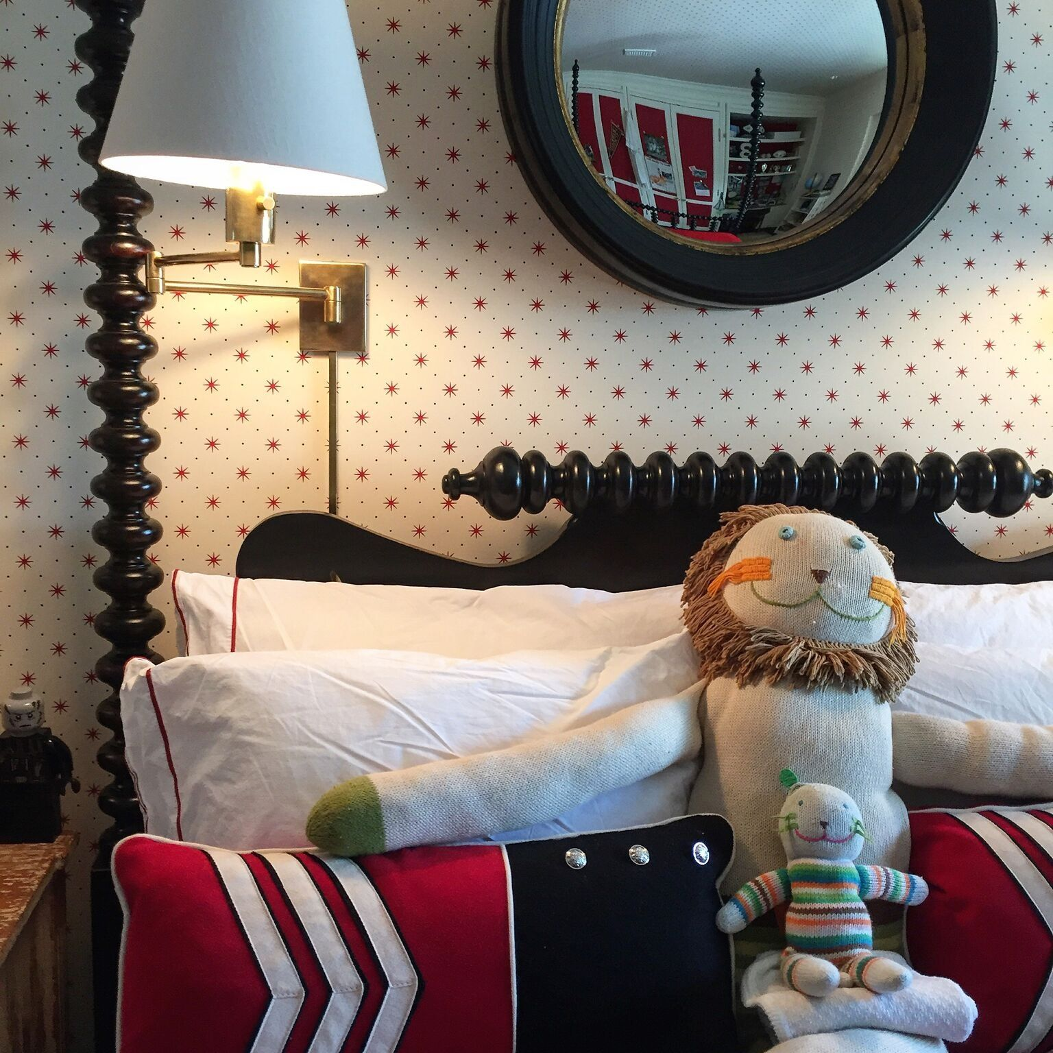 J Randall Powers Interior Design: J. Randall Powers. Youngest Son's Bedroom.