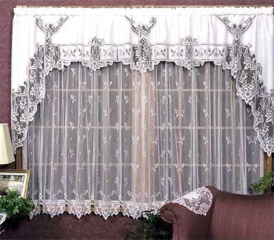 Heirloom Pattern Lace Curtain from Heritage Lace