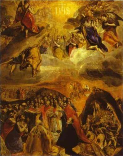 The Dream of Philip II - El Greco