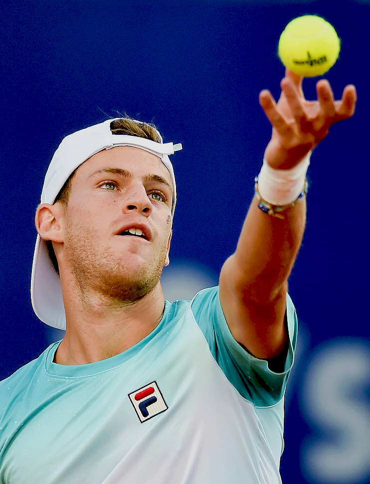 Diego Schwartzman Defeats Thomaz Bellucci During The Second Round Of The Argentina Open In Buenos Aires Argentina On February 1 Tennis Players Tennis Athlete