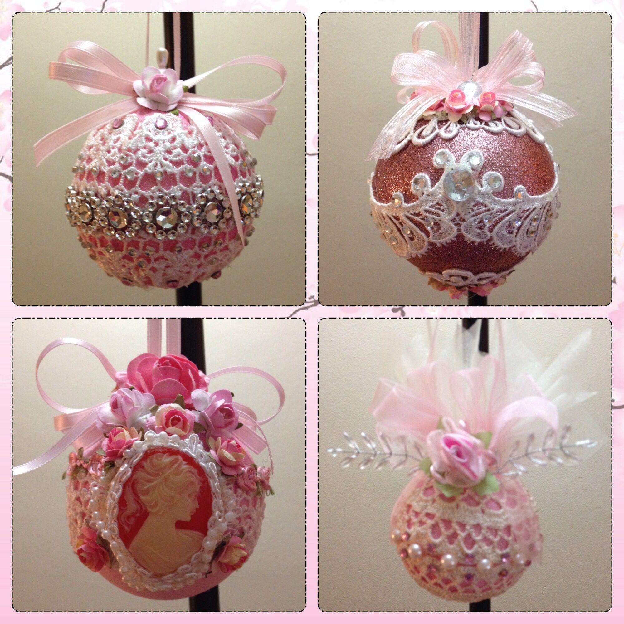 Handmade shabby chic ornaments | Shabby chic decor | Pinterest ...