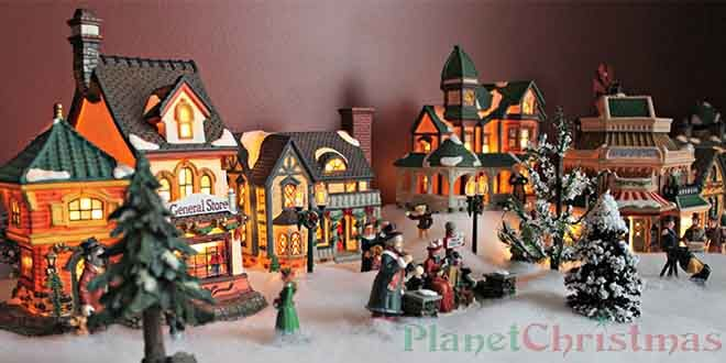 Christmas villages create your own tiny world of wonder ...
