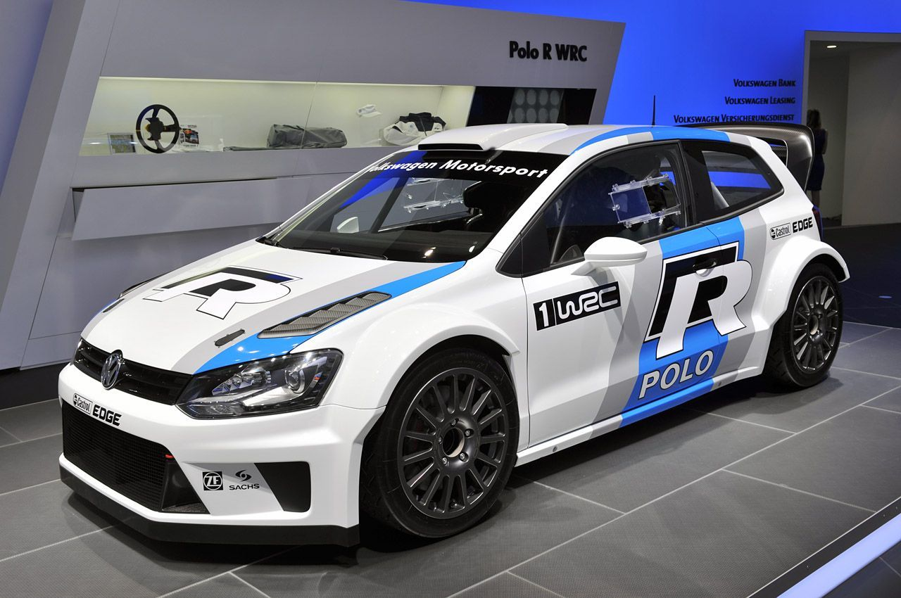 Wrc Volkswagen Polo R At The 2013 Geneva Motor Show In 2020 Polo R Volkswagen Polo Vw Polo