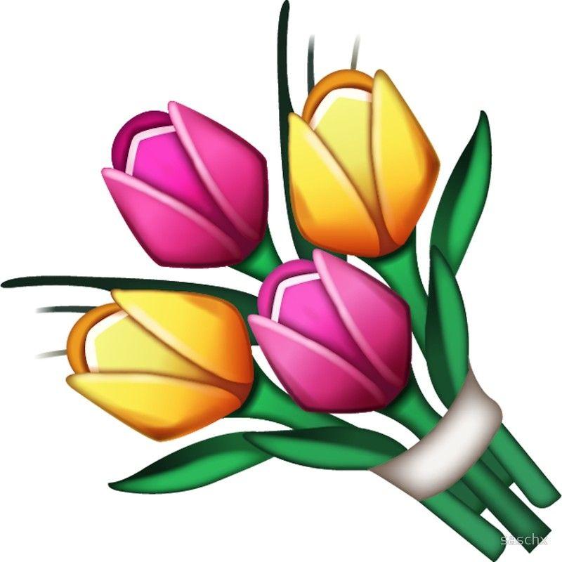 Mazzo Di Fiori Emoticon.Ramo De Flores Emoji Lamina Artistica Nel 2020 Buongiorno