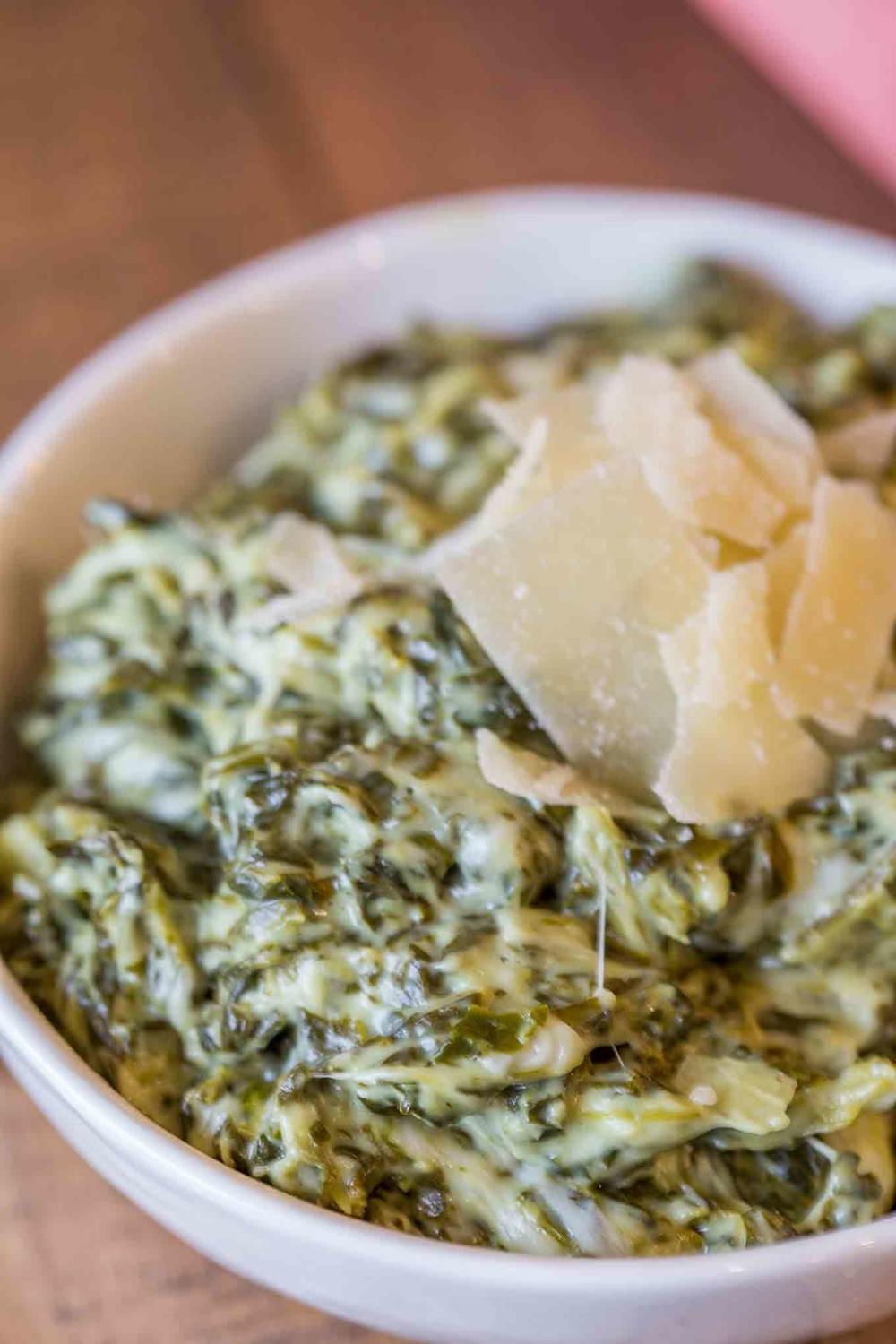 Morton's Steakhouse Creamed Spinach