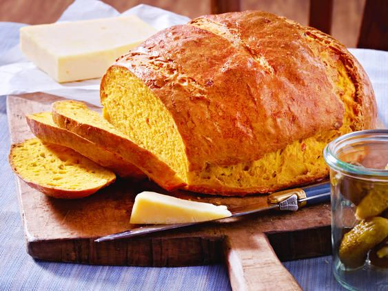 Kürbisbrot backen - das beste Rezept | LECKER