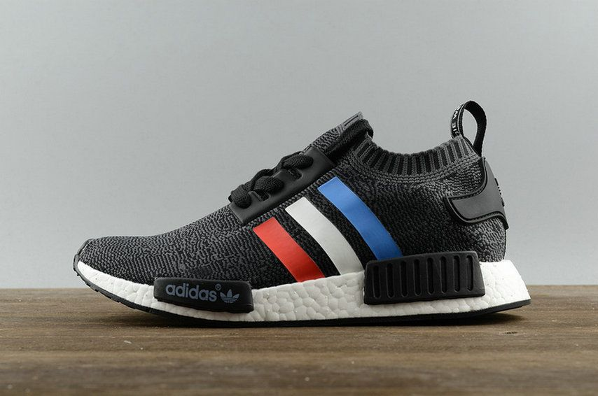 Adidas Nmd R1 Primeknit Tri Color Pack Bb2887 New Style Shoe