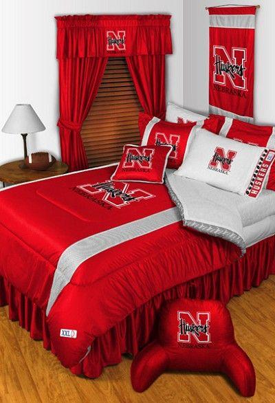 Nebraska Cornhuskers Sidelines Bedding Collection | Sports ...