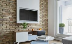 Hochwertig TV Wand Selber Bauen Interessante Ideen Wohnzimmer