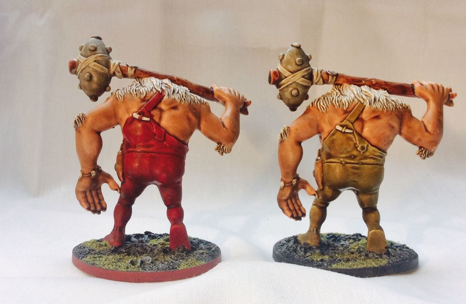 Descent board game PAINTED miniatures and 2nd edition