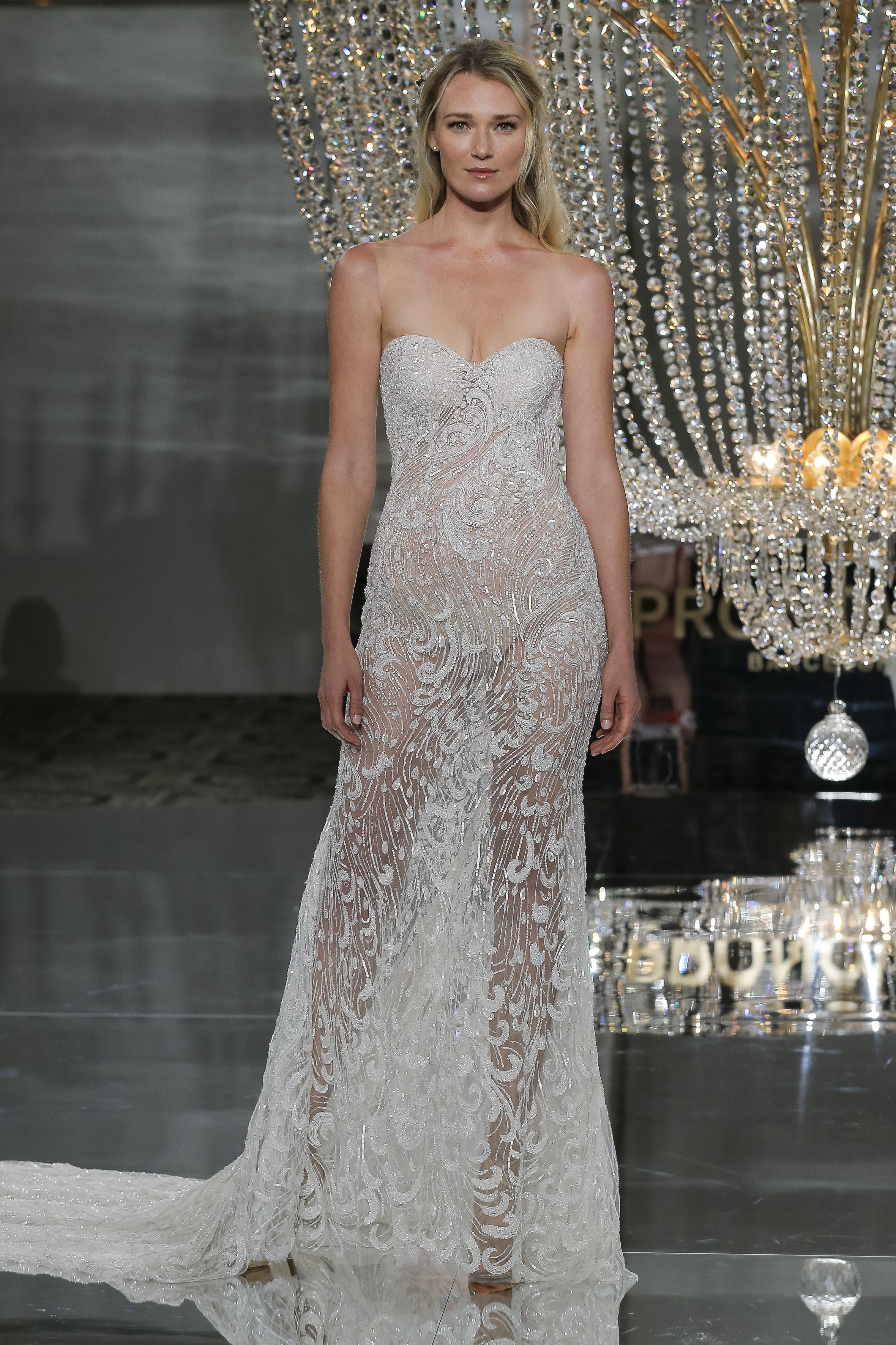 RISCA dress from ATELIER PRONOVIAS   NYC SHOW 2018 COLLECTION ...
