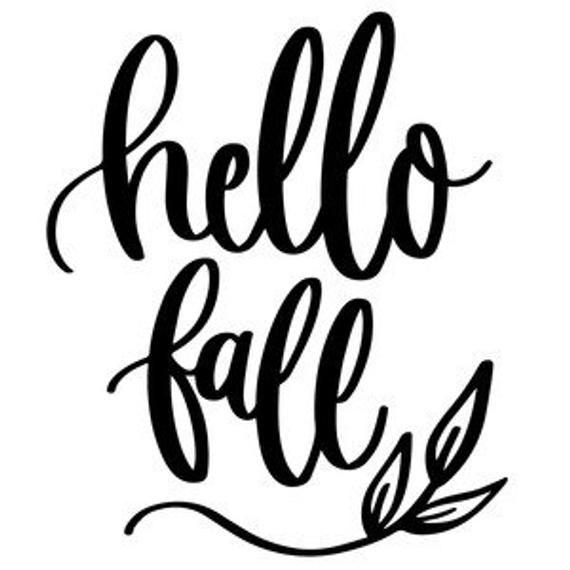 Hello Fall SVG #hellofall