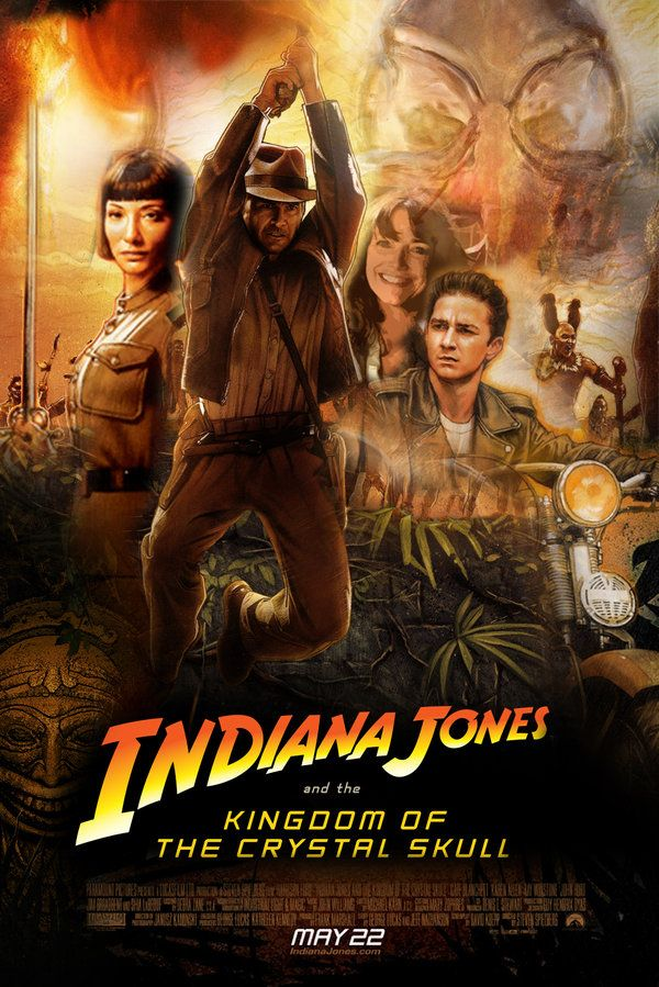 Kingdom Of The Crystal Skull 1 By Marty Mclfy On Deviantart Indiana Jones Crystal Skull Indiana Jones Films