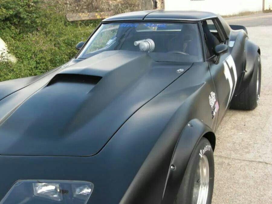 Vintage Corvette Racer