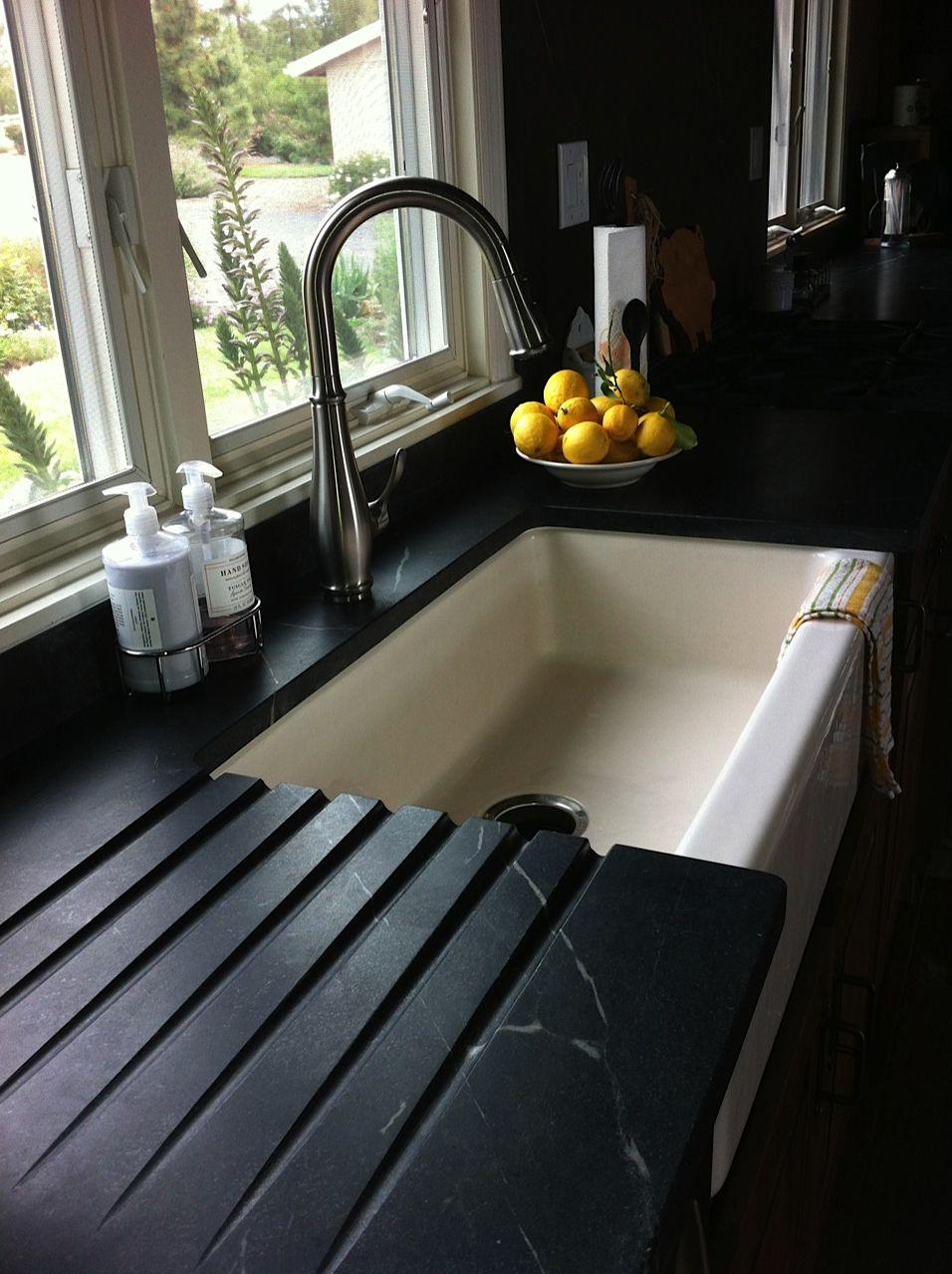 Soapstone Countertops Drainboards Www Soapstonewerks San Go Ca