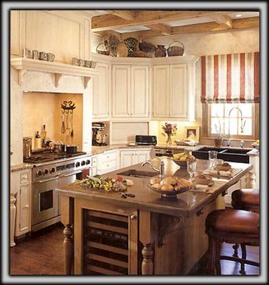 kitchens with cream colored cabinets | Cream Colored Kitchen Pics ...