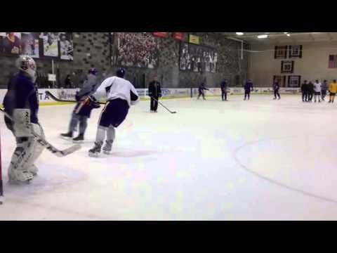 Kings Practice Drive And Shoot Drill 2 22 13 Youtube Kings Hockey Hockey Drills Los Angeles Kings Hockey