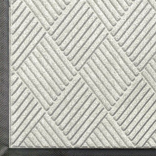 Andersen 208 White Polypropylene Waterhog Classic Diamond Entrance Mat 5 Length X 3 Width For Indoor Outdoor B Entrance Mat Outdoor Floor Mats Waterhog Mat