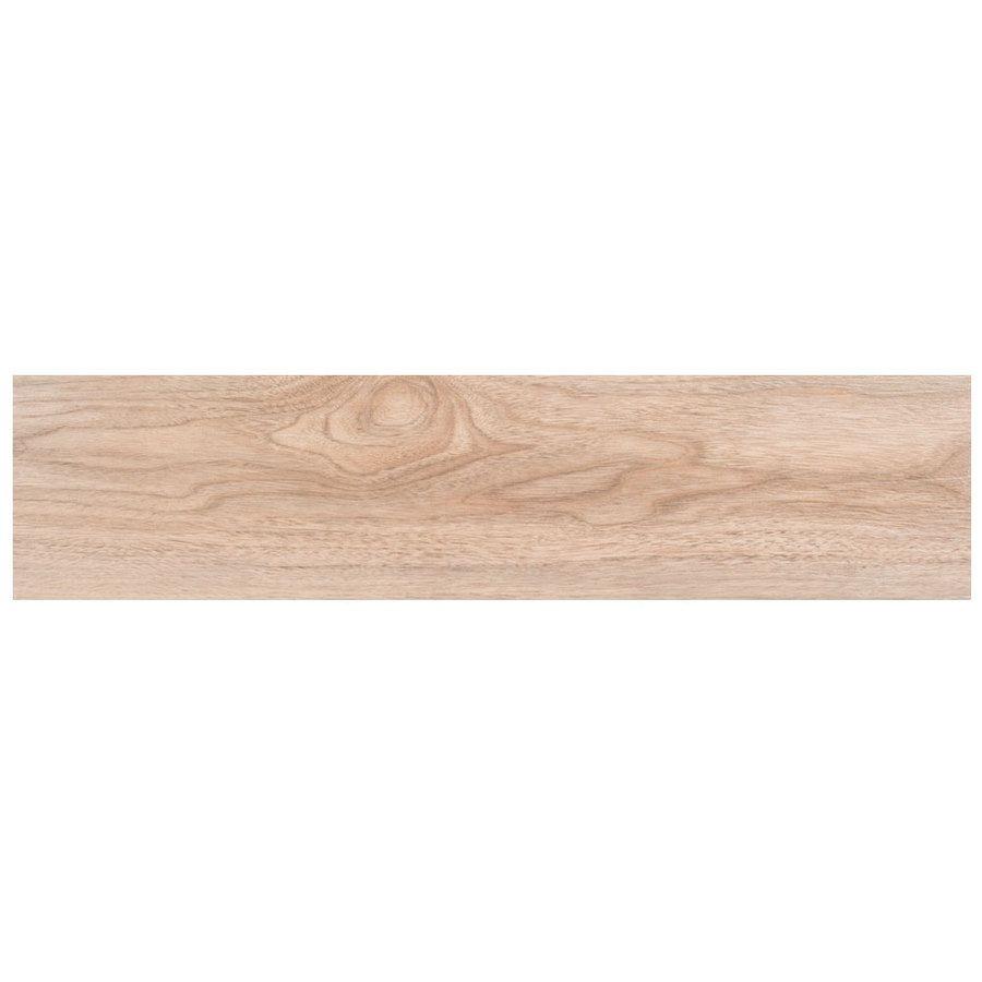 Snapstone Non Interlocking 12 Pack Natural Wood Look Porcelain Floor