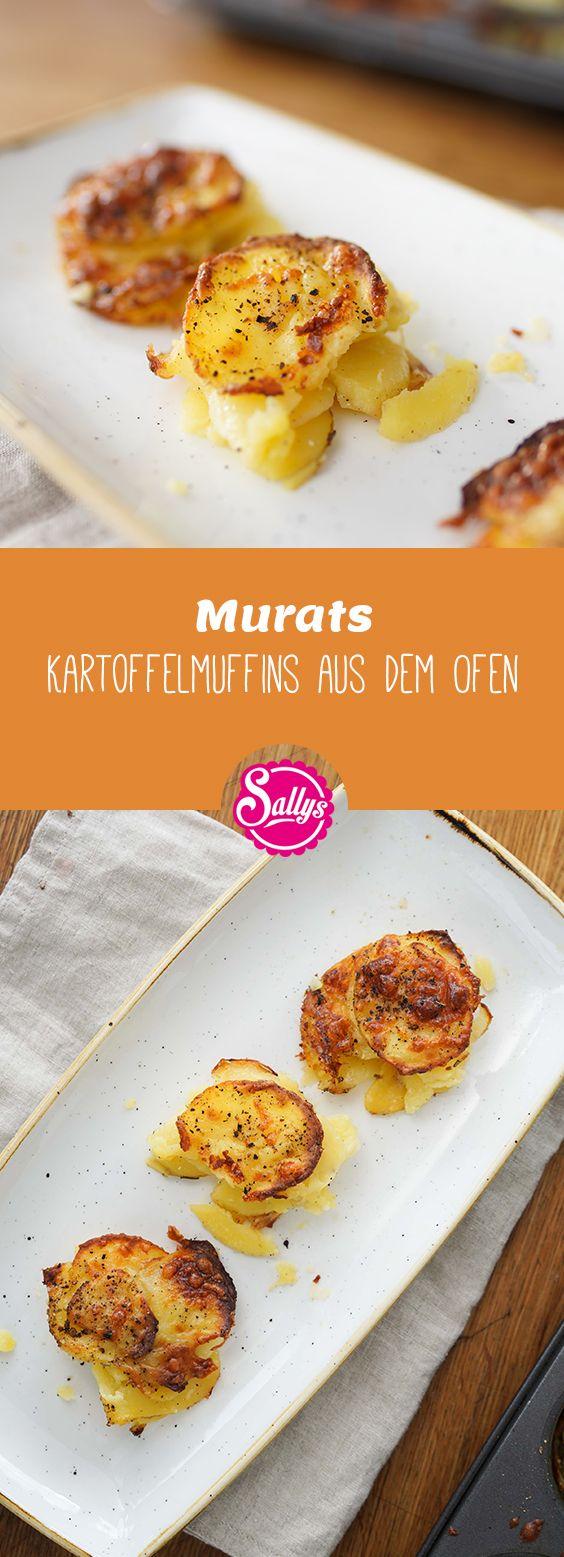 Würzige Käse-Kartoffeln aus der Muffinform, vorgestellt vom besten Koch Murat. Die perfekte Beilage für jeden Hauptgang. #kartoffelnofen
