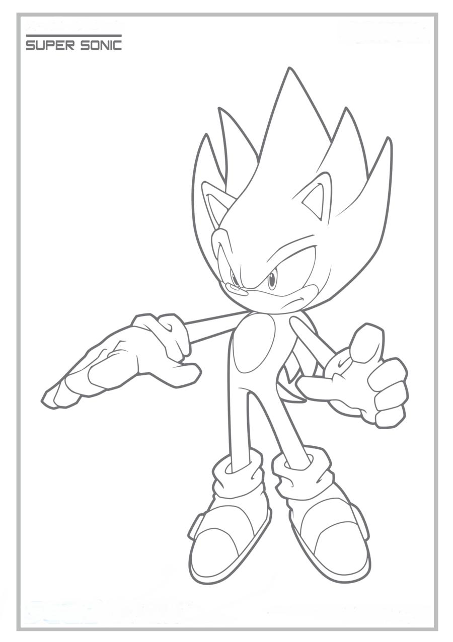 Sonic X Colorir Colorir Desenhos Pintar