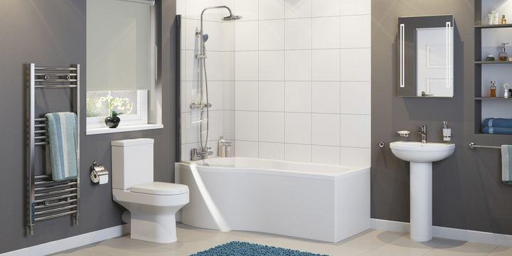 Bathroom Modern Bathroom Fittings Decor Matalan Modern - Modern bathroom furnishings