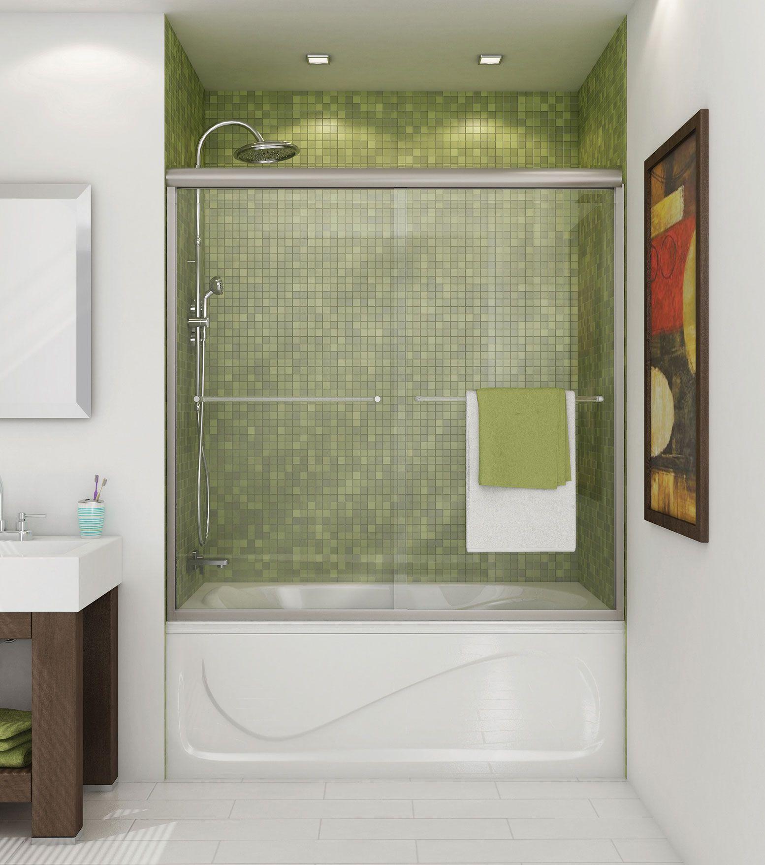 Luminous 2-panel Tub showers door - MAAX | hairstyles | Pinterest ...