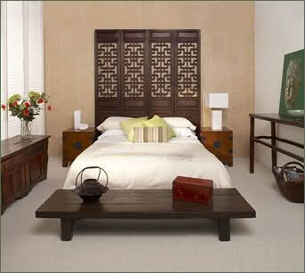 Oriental Bedroom Furniture | Black Oriental Bedroom Furniture ...