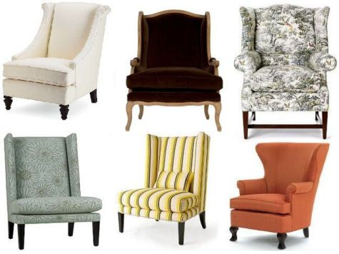 Wingback Chair Guide Design Sponge Types Of Living Room Chairs Wingback Chair Reupholster Chair