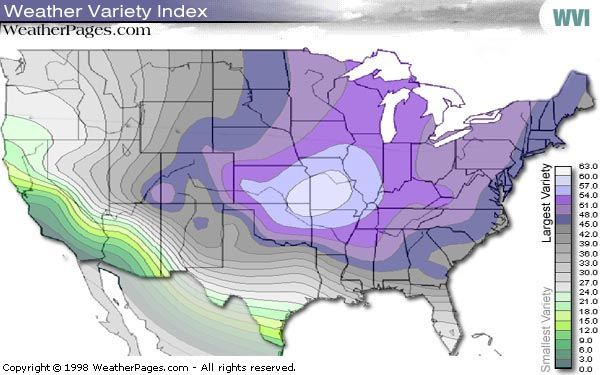 Weather Variety Index Map Springfield Mo 1 Now Take Me To Ca Or