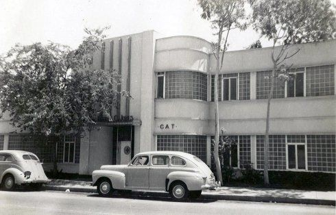 Endangered Streamline Moderne Building - 9080 Santa Monica ...