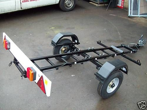 Foldaway Collapsible Knock Down Motorcycle Trailer Easy To Store Assemble Ebay Bradford 335