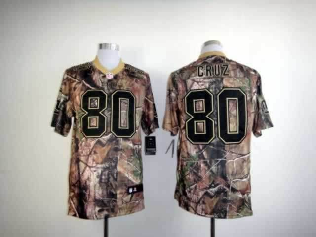 san francisco bb3c0 da1da Nike New York Giants 80# Victor Cruz Camo Realtree Nike NFL ...