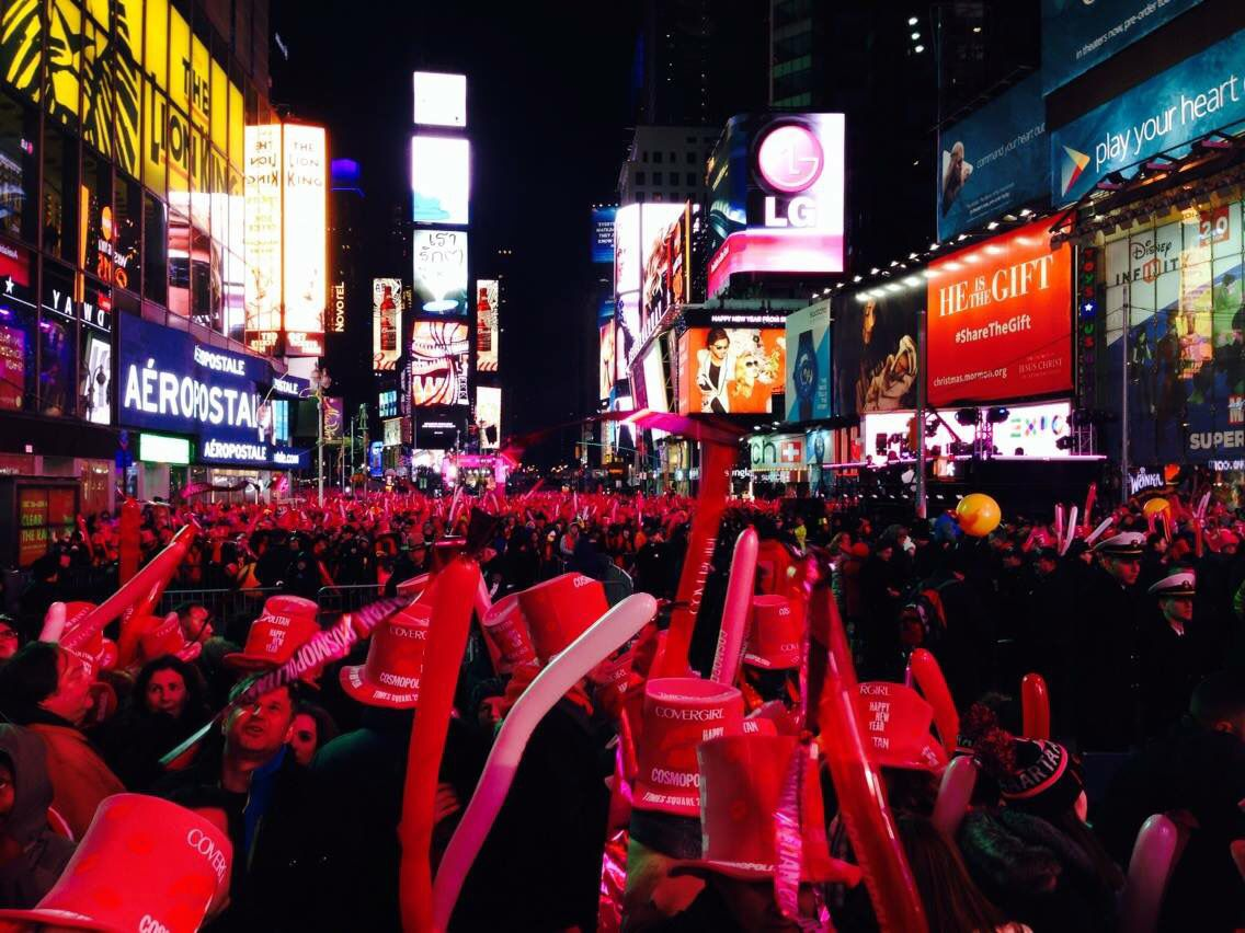New York City New Year's Eve (With images) | New york city ...